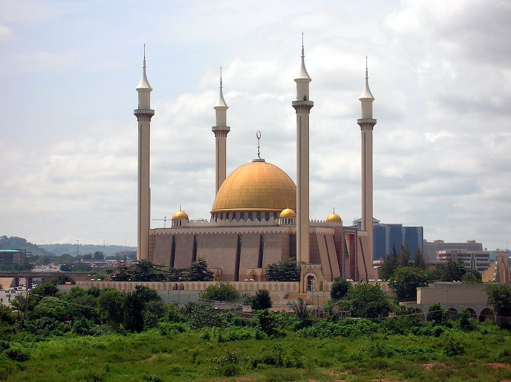 Abuja National Mosque - Image By Shiraz Chakera Released under cc-by-sa-2.0