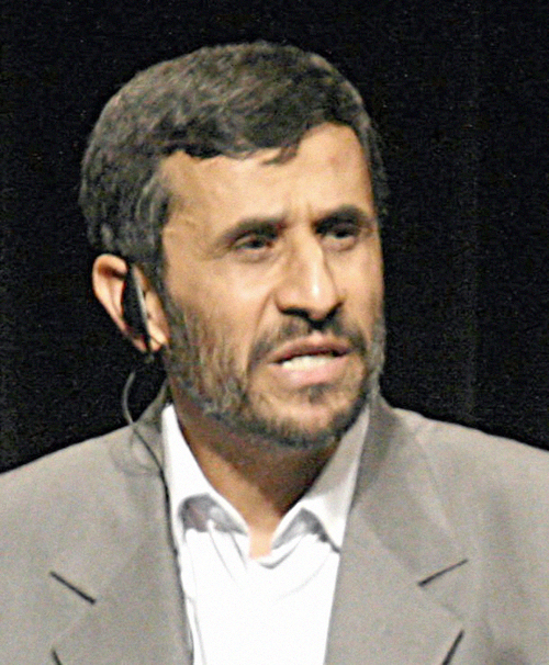 Ahmadinejad - Image by Daniella Zalcman Released under Creative Commons Attribuzione 2.0 Generico