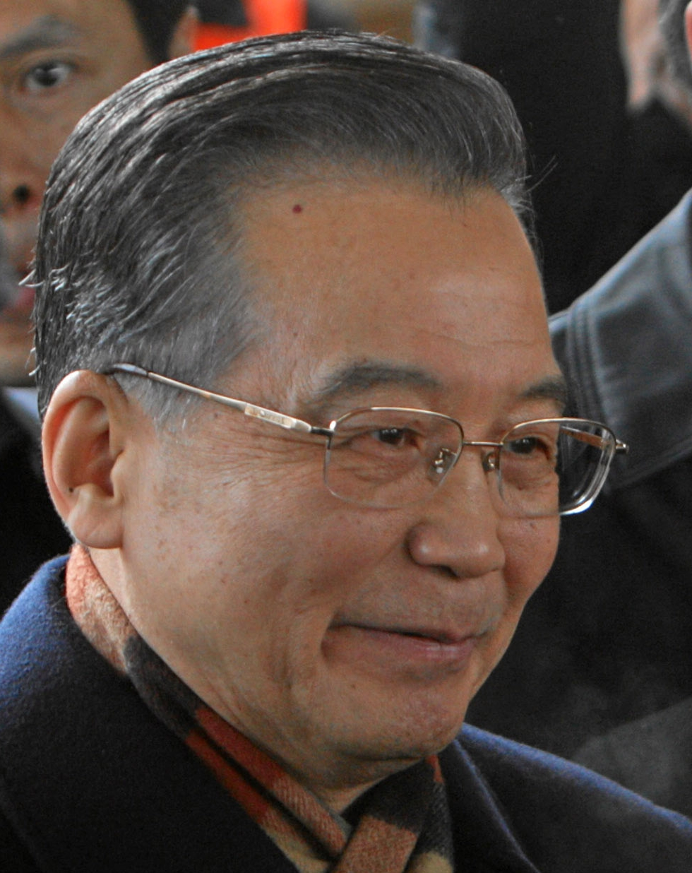 Wen Jiabao - Image courtesy of Wikipedia