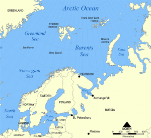 Barents Sea - Source Wikipedia