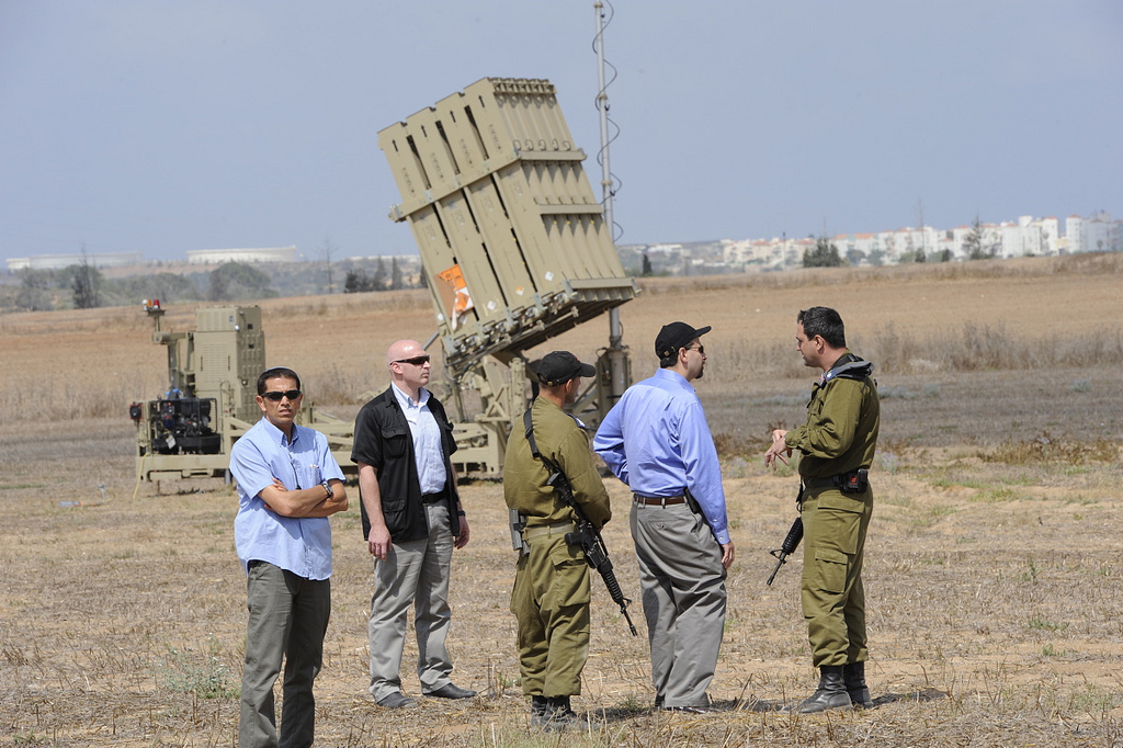 Iron Dome dispiegato vicino la città di Karmiel