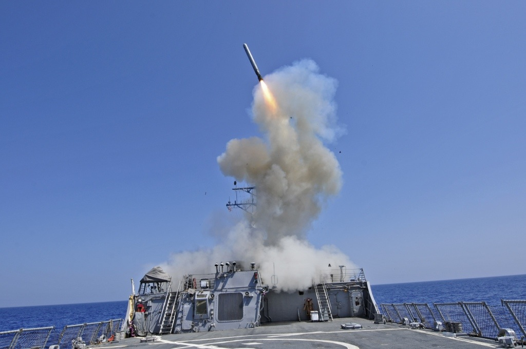 Tomahawk Usa per lo Strike in Siria